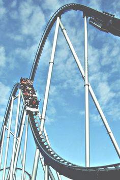 "Rollercoaster ""Silverstar"" in Europa-Park, Germany. This ride rocks!"