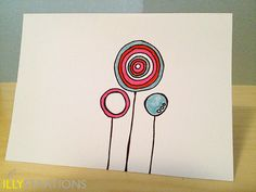 Lollipops Notecard by illystrations on Etsy, $4.50