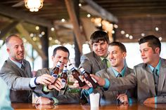 mint wedding groomsmen