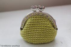 Värikkäitä unelmia: Kukkaro Handicraft, Coin Purse, Wallet, Purses, Handmade, Bags, Crocheting, Diy, Ideas