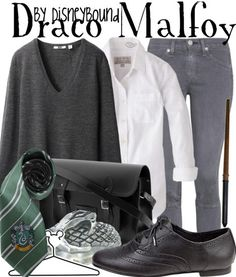 Disney Bound: Draco Malfoy Harry Potter Inspired