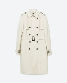 WATER RESISTANT TRENCH COAT - View all-OUTERWEAR-WOMAN   ZARA United States