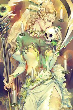 Sarturnus by on deviantart fantasy art: the women i Bizarre Kunst, Bizarre Art, Art And Illustration, Girl Illustrations, Fantasy Kunst, Fantasy Art, Manga Art, Anime Manga, Deviantart Fantasy
