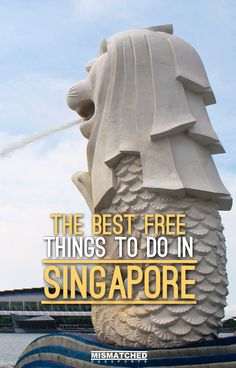 The Best Free Things to Do in Singapore Travelling in Singapore can be done for cheap. From walks to gardens, from beaches to historic buildings, there are many free things to do Singapore. Check out this list of the best free things to do in Singapore. Singapore Travel Tips, Singapore Guide, Singapore Itinerary, Visit Singapore, Singapore Malaysia, Singapore Singapore, Best Places In Singapore, Merlion Singapore, Singapore Things To Do
