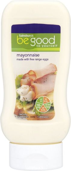 Sainsbury's Be Good to Yourself Mayonnaise Squeezy (430ml)