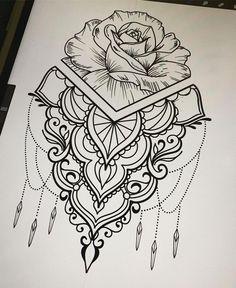Delicate and beautiful 30 simple mandala tattoo design ideas for women Mandala Tattoo – Top Fashion Tattoos Mandala Tattoo Design, Simple Mandala Tattoo, Mandala Arm Tattoos, Geometric Tattoos, Tattoo Designs, Tattoo Ideas, Mandala Tattoo Sleeve Women, Paisley Tattoos, Designs Mehndi
