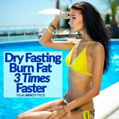 A dry fast is fasting without even allowing water of liquids. Dry fasting can burn fat up to 3 times faster than intermittent fasting, but you need to exercise caution. Weight Loss Drinks, Weight Loss Smoothies, Fast Weight Loss, How To Lose Weight Fast, Fat Fast, Water Fast Results, Full Body Detox, Natural Detox Drinks, Fat Burning Detox Drinks