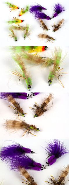 flies 23812: 240 preselected colorado trout fly assortment and fly, Fly Fishing Bait