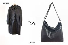 reMade USA - You send them an old leather jacket, they turn it into a gorgeous handbag.