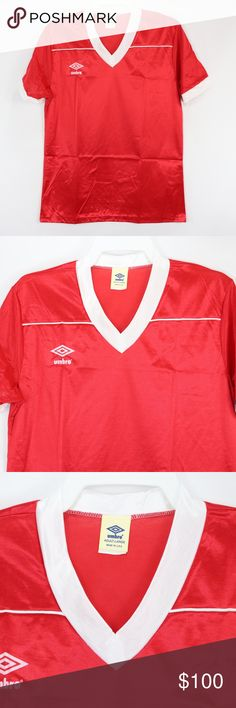 80s New Umbro Mens Large Liverpool Soccer Jersey Vintage 80s Umbro Short  Sleeve Soccer Jersey Jersey 9da1cbe0c