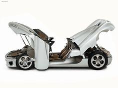 Koenigsegg #car #white