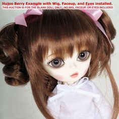 Hujoo-Berry-Cream-White-Blank-24cm-ABS-Ball-Jointed-Fashion-Doll-New-BJD