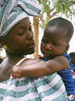 Maternal and child health is a central component of the work that the USAID grant will support.