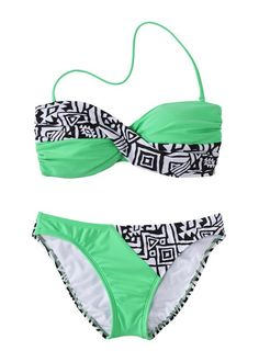 Target bathing suit. Love the color & pattern