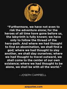 💖The reconciliation of opposites. love Joseph Campbell , his metaphors and his wisdom Writing Quotes, Writing Tips, Book Quotes, Life Quotes, Wisdom Quotes, Career Quotes, Literary Quotes, Spiritual Quotes, Quotes Quotes