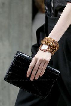 Bottega Veneta automne-hiver 2013-2014 bijoux
