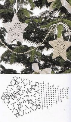 Crochet Motifs and Apliques ⋆ Page 5 of 18 ⋆ Crochet Kingdom Crochet Motifs, Thread Crochet, Diy Crochet, Crochet Crafts, Crochet Doilies, Crochet Flowers, Diy Crafts, Crochet Christmas Decorations, Crochet Ornaments