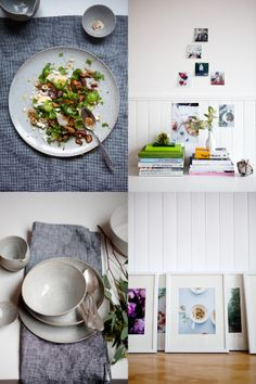 Aran Goyoaga's studio in Seattle + a few dishes from our shop!