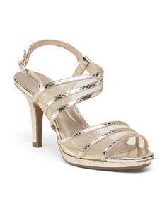 9d3d6762f66871 Platform Sandal - Heeled Sandals - T.J.Maxx