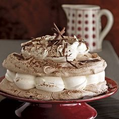 Hot Chocolate Meringue