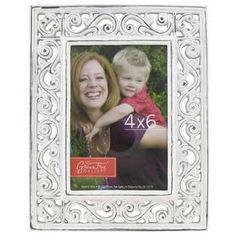$15.99 $8.00  Distressed White Lattice Scroll Frame ENGAGEMENT PHOTO ON TABLE
