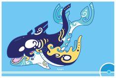 Pokemon #382 by Cosmopoliturtle