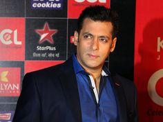 Salman in black coat