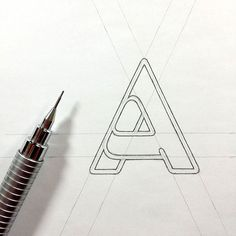 A #logo #mark #symbol #logotype #icon #logodesigner #logomaker #letter #graphic #design #sketch #drawing #illustration #sketching #identity #goodtype #typespire #showusyourtype #typeverything #typetopia #typetopialogolove #thedesigntip #dribbble