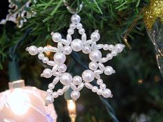 Vintage Beaded Ornament Instructions