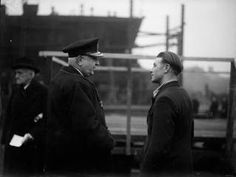 200TH LAUNCH AT A ONCE DERELICT YARD. 17 NOVEMBER 1944, THORNABY-ON-TEES, THE…