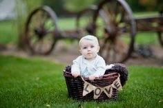 6 month old photography idea