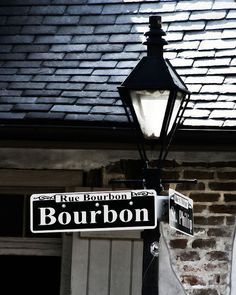 One thing is black and white... New Orleans during Mardi Gras is a riot of Color!  http://www.etsy.com/listing/38229543/new-orleans-art-bourbon-street-sign    #ridecolorfully