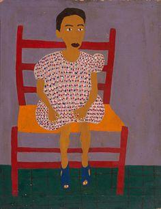 Portrait by William H. Johnson / American Art