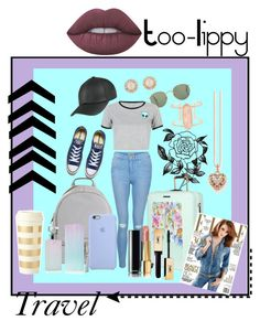 """""""Long journey♡"""" by too-lippy ❤ liked on Polyvore featuring New Look, Converse, MICHAEL Michael Kors, Forever 21, WithChic, Ted Baker, Calvin Klein, Chanel, Thomas Sabo and Kate Spade"""