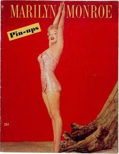 26044542_1_x.jpg (1600×2069) A Marilyn Monroe pin-ups Magazine, 1953.