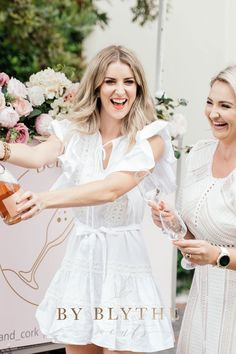 Gold, pinks and bubbly too, this tea time soiree is positively lovely. Glass Conservatory, Tea Party Bridal Shower, Tea Time, Champagne, White Dress, Flower Girl Dresses, Wedding Dresses, Spring, Pretty