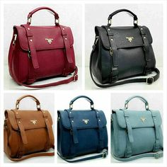 Prada 8063 super 26x14x23  red-black- blue- d blue - brown