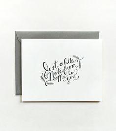 Lettering / Anna Bond