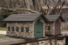 https://flic.kr/p/9FLS7X | Stone Mail Boxes - Boulder Park Charlevoix, MI 20110423