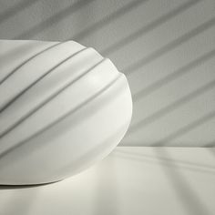 obj. 11.3 // redesigned and hand painted // white ceramic vessels