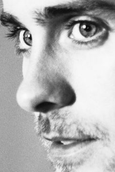 jared leto...Is it weird that I'm in love with his adorable nose?