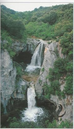 Gour de la Sompe. (Ibie). Ardèche.