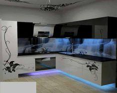 3 boyutlu mutfak dekorasyonu