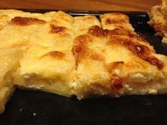 Házi túrós rétes Hungarian Desserts, Hungarian Recipes, Hungarian Food, Flan, Lasagna, Macaroni And Cheese, Food And Drink, Cooking Recipes, Pie
