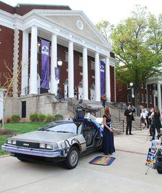 Asbury University Highbridge Film Festival - DeLorean Time Machine!