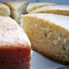 Eggless cardamom cake