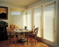 Hunter Douglas European Style Window Treatments and Draperies #Hunter_Douglas #European #Style  #Blinds #Window_Treatments #Draperies