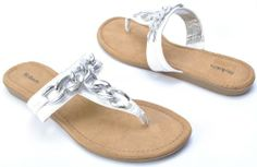AwesomeNice Style & Co. Women's Delita Thong Sandals in White