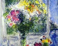 Marc Chagall | Window in Artist's Studio