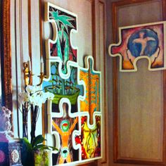 Cool jigsaw puzzle art!